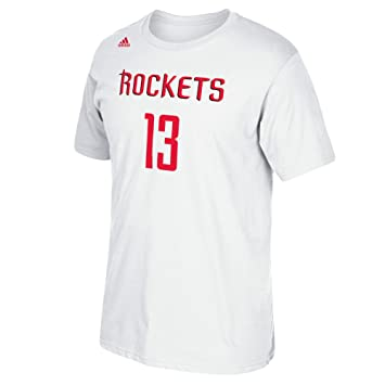 Adidas NBA Houston Rockets James Harden # 13 Hombres de la Serie 7 Nombre y número