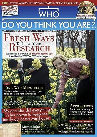 85a68fddb29e42 Who Do You Think You Are? Magazine: Amazon.co.uk: Kindle Store