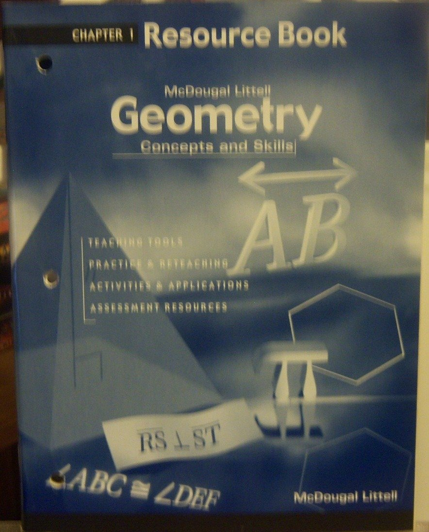 Download Geometry: Concepts and Skills: Resource Book Chapter 1 Text fb2 ebook