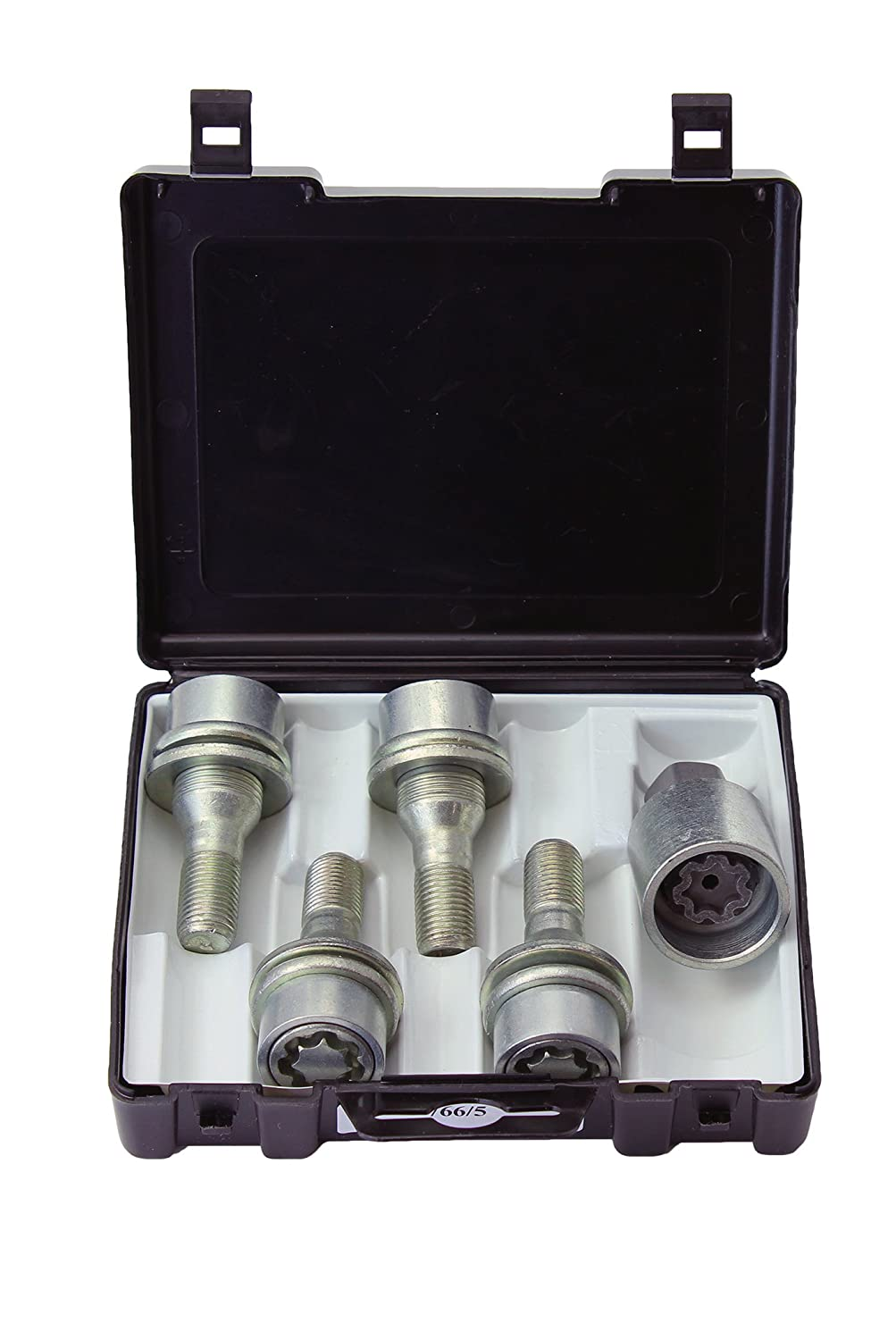 FLAT seat Set of 4 and removal key Anti-theft protection 766//5 Heyner StilBlock locking wheel BOLTS for M12x1.25 x 23.5