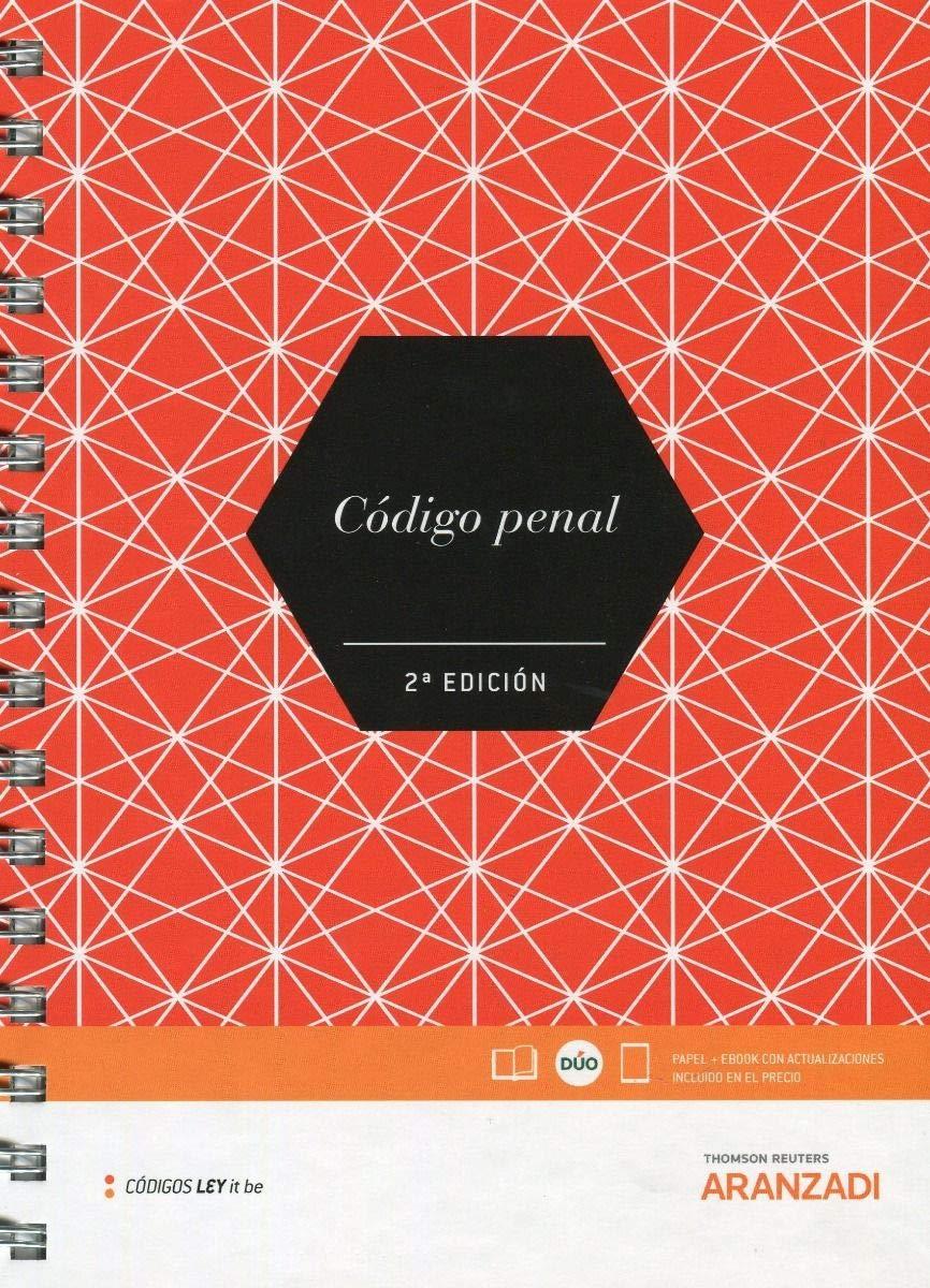 Código Penal LeyItBe Papel + e-book Código Básico: Amazon.es: Aranzadi, Departamento de Contenidos: Libros