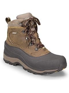 43e4e34d50f Amazon.com | Eddie-Bauer-Brad-Leather Upper-100% waterproof hiking ...