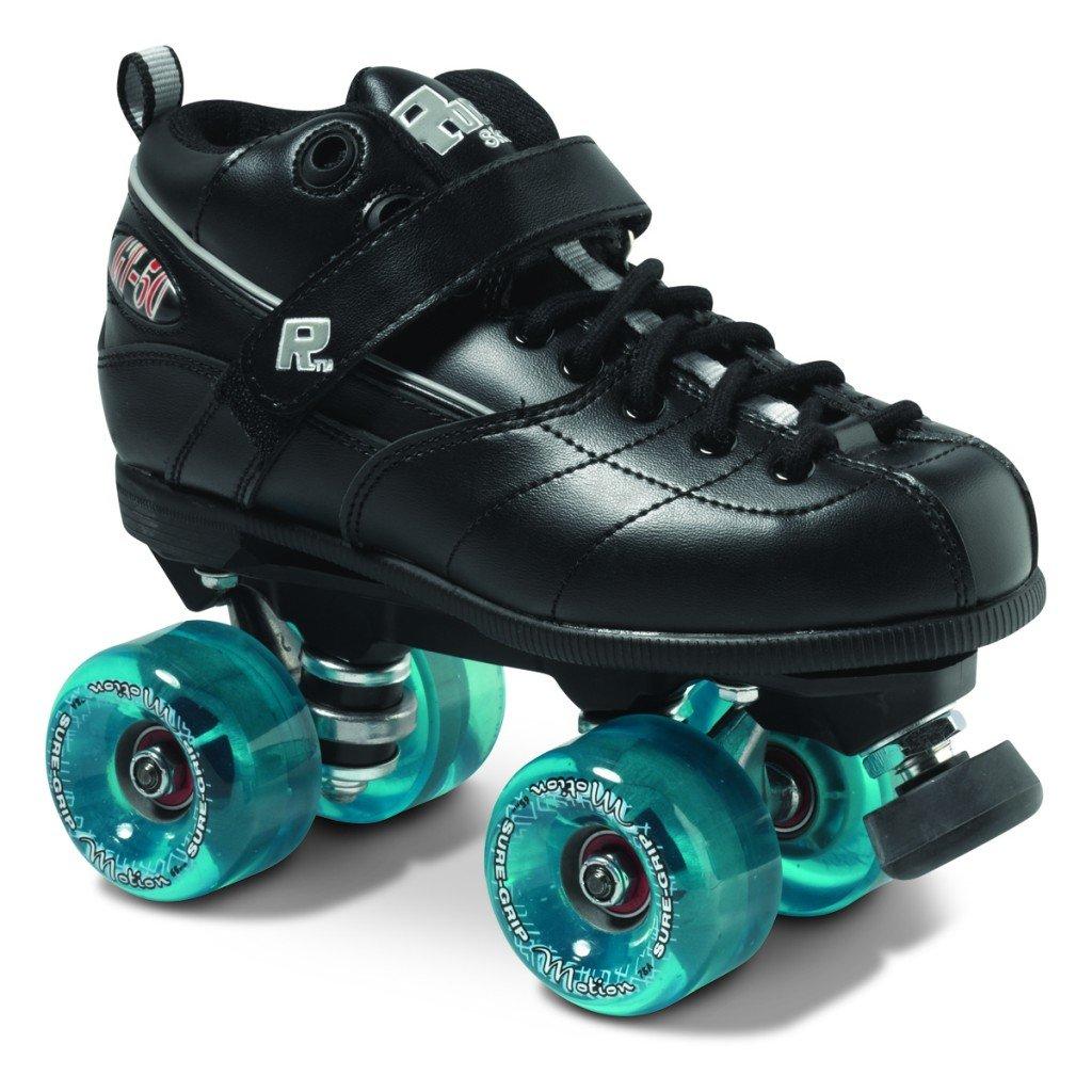 GT50 Motion Outdoor Roller Skate Package - black sz Mens 10 / Ladies 11