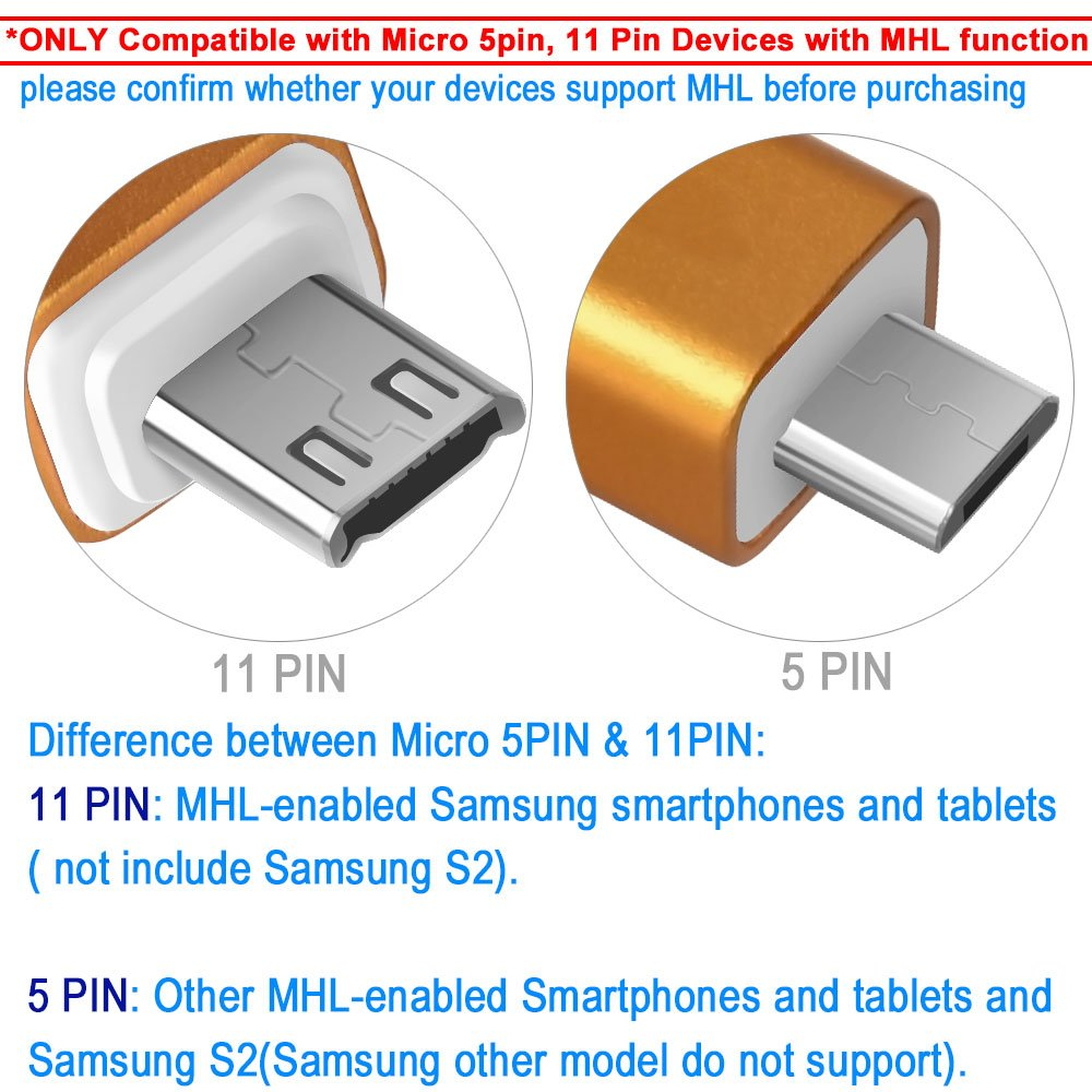 Micro usb 11 pin diagram wiring library amazon com aceyoon micro usb 5 pin 11 pin to hdmi adapter 1080p rh amazon com micro usb port diagram micro usb power cord schematic keyboard keysfo Images