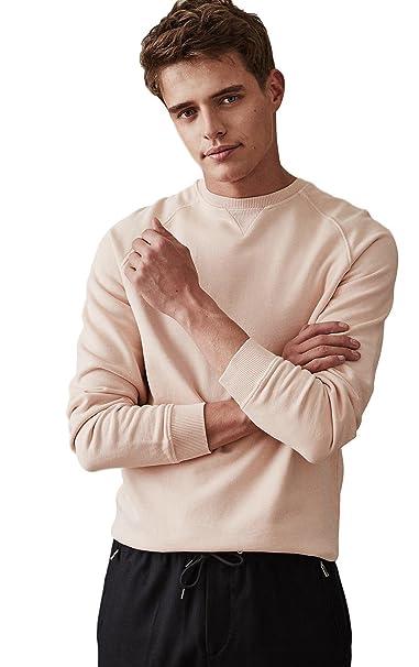 New Mens Ex Reiss Austin Cotton Sweatshirt Garment Dyed T-Shirt Sze S-XL RRP £75