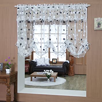 Qwasfcds Gardinen Wasservorhange Esszimmer Schlafzimmer Haus