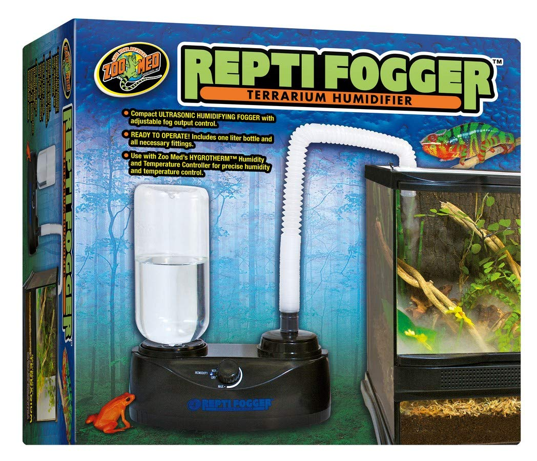 DBDPet Reptifogger - Terrarium Humidifier - Includes Attached 5 Point Pro-Tip Guide by DBDPet