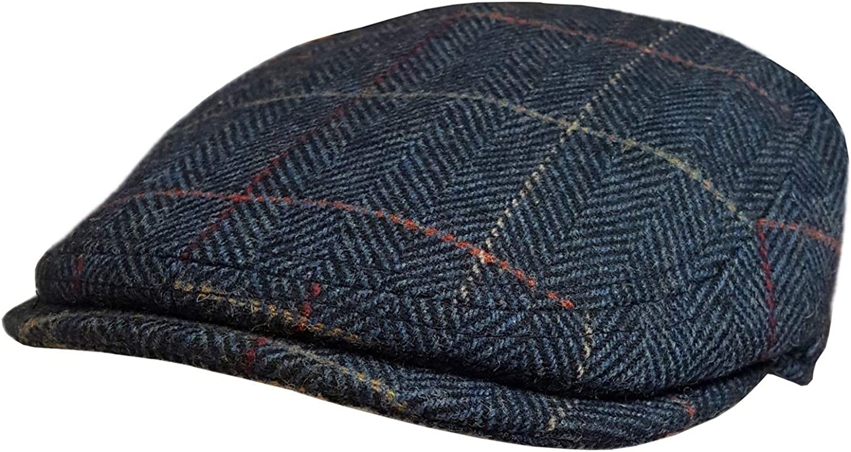 Unisex Mens Solid Color Uni Baker Boy Newsboy Gatsby Flat Cap Cabbie Hats Brown