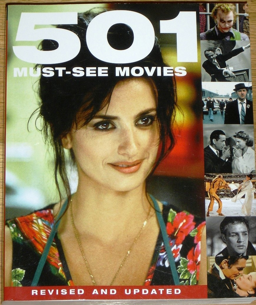 501 must see movies 501 series polly manguel emma hill 9780753720325 amazoncom books - Must See Movies