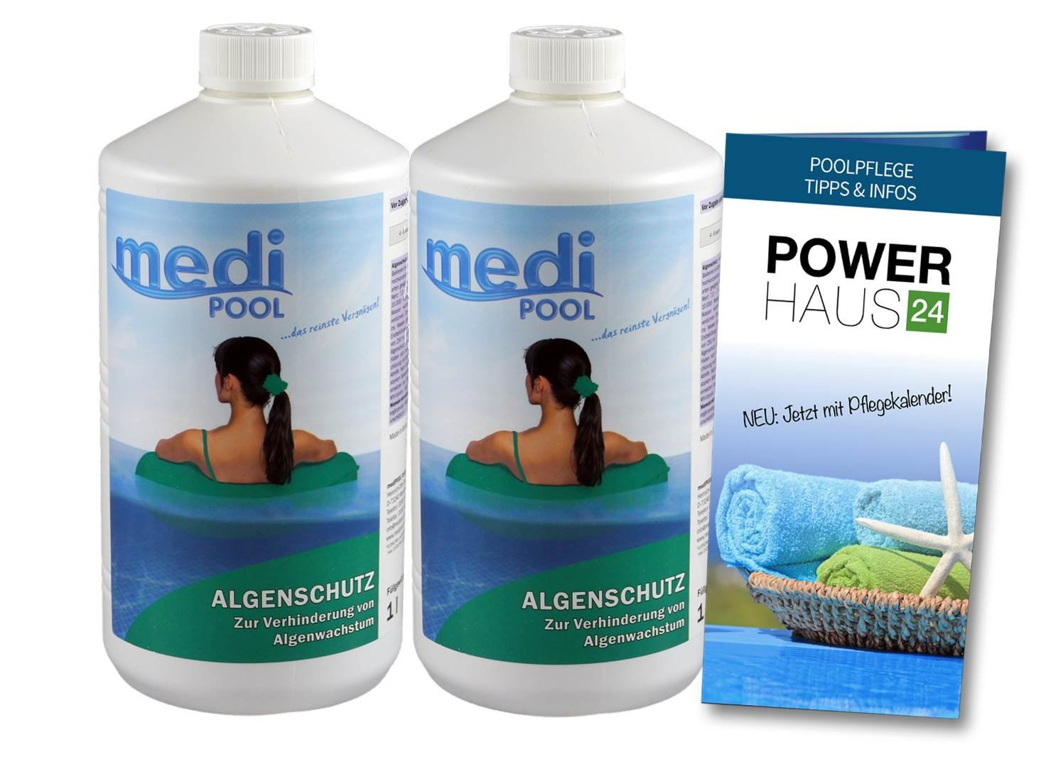 Algae Guard – 2L – with Power HAUS24 Care Guide POWERHAUS24