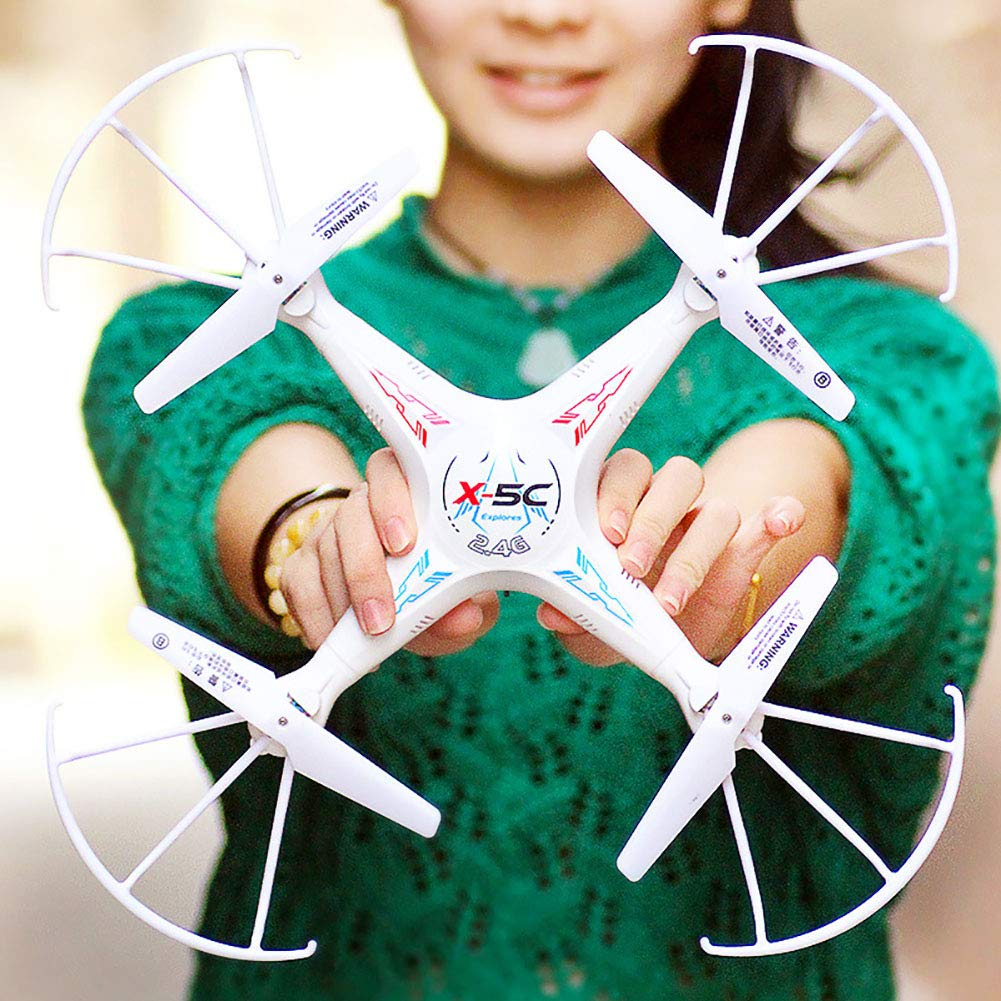 Aland-Aerial Wide Angle Quadcopter Remote Control Mini Camera Aircraft Children Toy - Green 1 by Aland (Image #2)