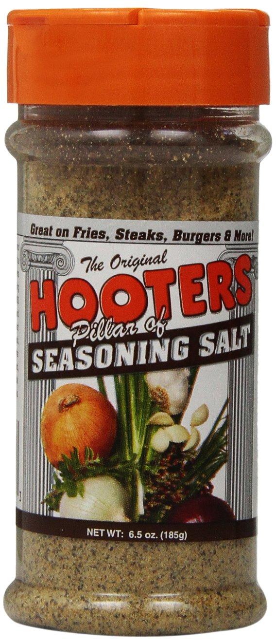 Hooter's Seasoning Salt, 6.5-Ounce (Pack of 6)