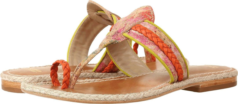 Johnston & Murphy Women's Wendy Toe Ring Sandal B01KYTHA9U 7 M US|Orange