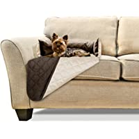 FurHaven Pet Furniture Cover | Sofa Buddy Reversible Furniture Cover Protector Pet Bed for Dogs & Cats, Espresso/Clay…