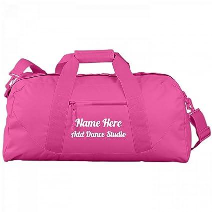74687895f53c Custom Dance Practice Bag For Teens: Liberty Large Square Duffel Bag