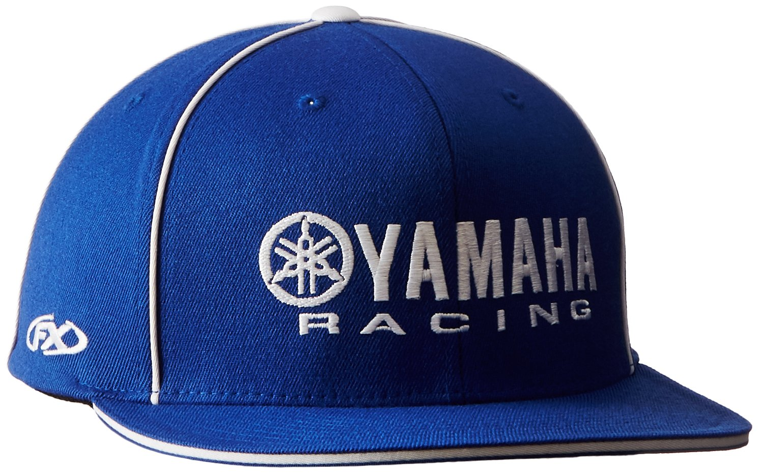 51d62e97d57 Amazon.com  Factory Effex 12-88070 Yamaha Racing  Flex-Fit Hat (Blue ...