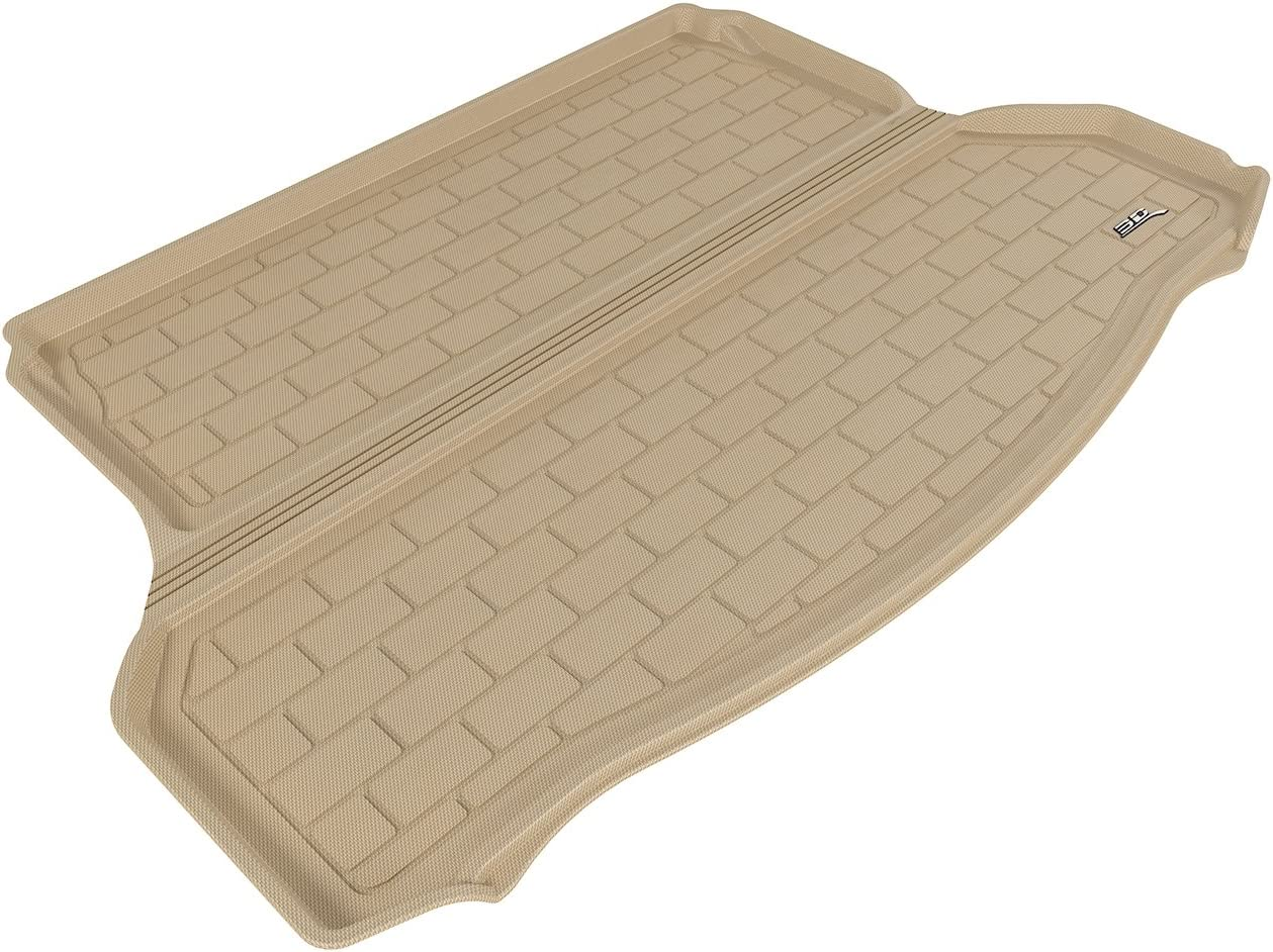 Kagu Rubber 3D MAXpider Complete Set Custom Fit All-Weather Floor Mat for Select Nissan Rogue Models Tan