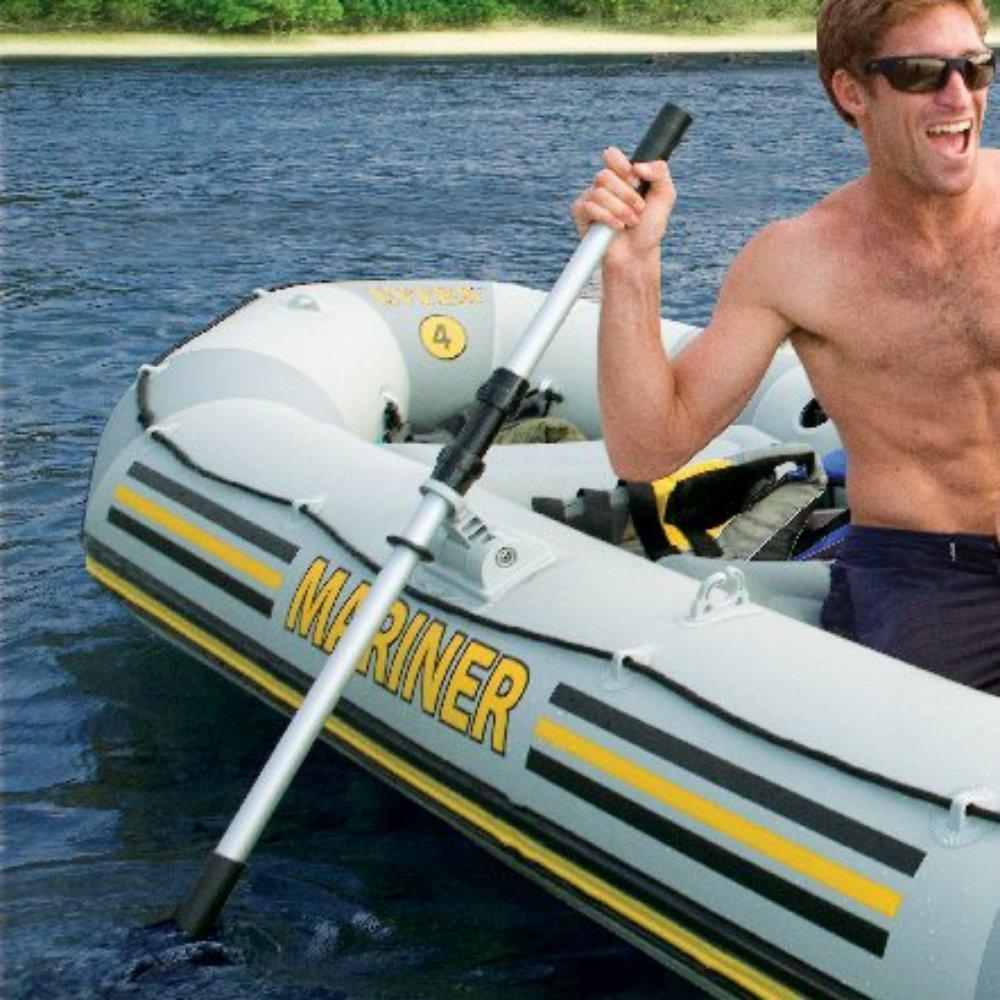 BeGrit Kayak Paddles Boat Oars Detachable Canoe Paddle Pack of 2 Black 49'' by BeGrit (Image #7)