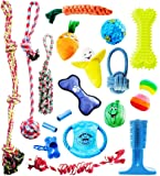 Pacific Pups Products supporting pacificpuprescue.com - 18 Piece Dog Toy Set with Dog Chew Toys, Rope Toys for Dogs…