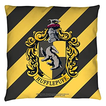 Amazon Harry Potter Hufflepuff Crest Throw Pillow Home Kitchen