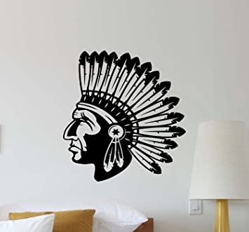 Amazon.com: Julia Cruz Indian Chief Head Wall Decal Native ... on native american kitchen decor, native american valentine's day, native american lighting, native american storage, native american tiles, native american dinner, hispanic kitchen ideas, native american diy, native american doors, photography kitchen ideas, native american style, native american tables, early american kitchen ideas, native american home, furniture kitchen ideas, native american interiors, native american modern kitchen, native american real estate, cowboy kitchen ideas, latin american kitchen ideas,