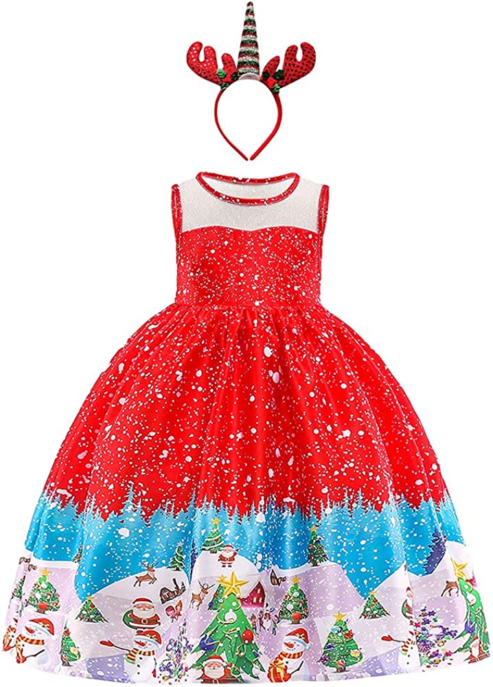 Girls Unicorn Costume Cosplay Fancy Dress Up Princess Sequins Rainbow Tulle Tutu Skirt Party Outfits Birthday Pageant Carnival Halloween Dresses Prom Ball Gown Kids Baby Dance Clothes Photo Shoot