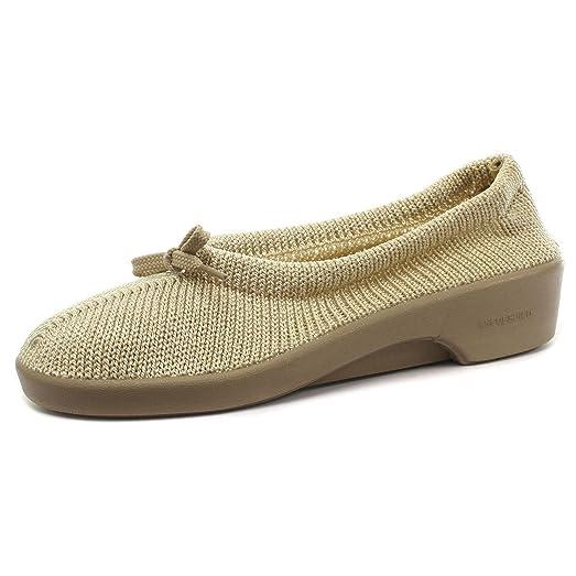 Fitters Footwear - Zapatillas de Material Sintético para mujer Beige beige, color Beige, talla EUR 45