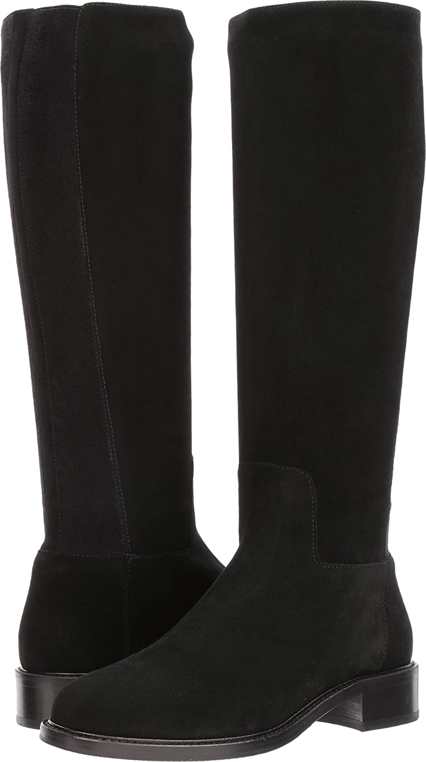 Aquatalia Women's Bryana Calf Knee High Boot B071CH16T4 11 B(M) US|Black Suede