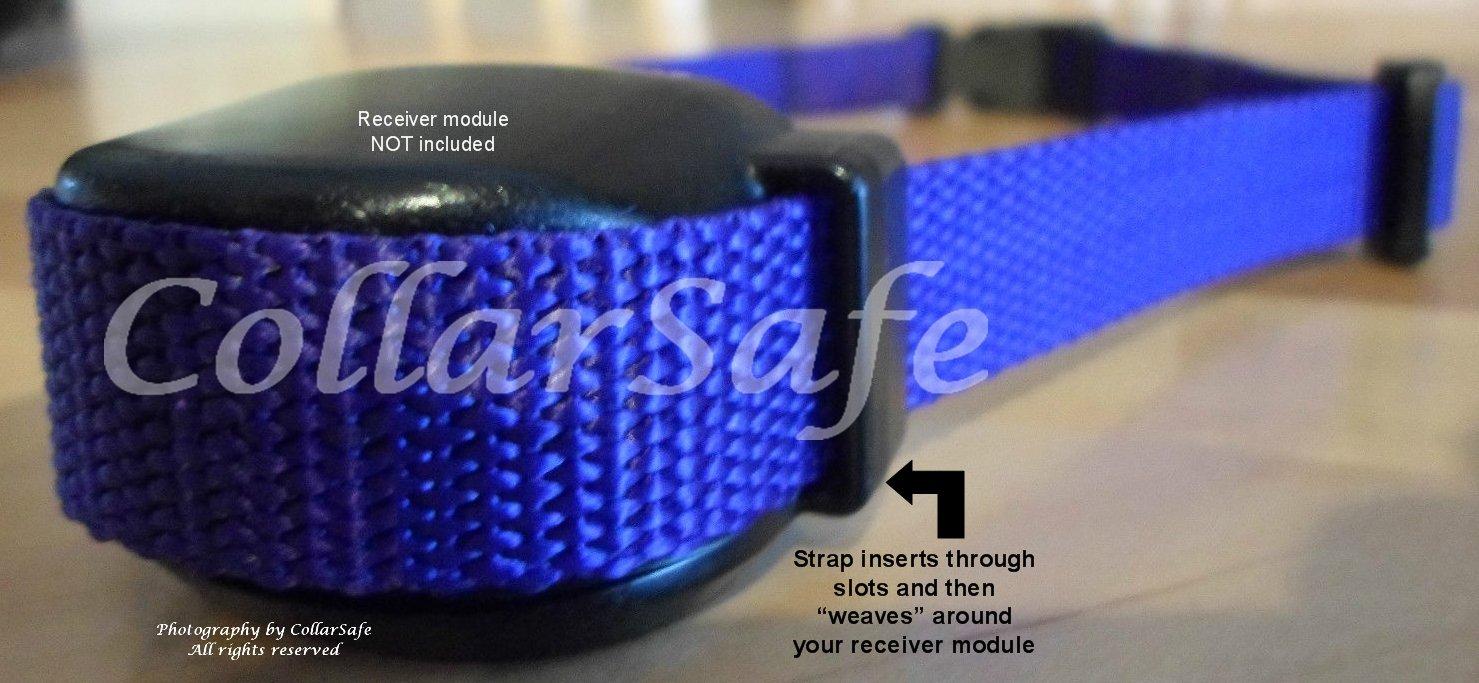 CollarSafe Basic Replacement Collar FITS Petsafe Stay /& Play,Sonic Bark,Yard /& Park Remote Trainer,Pawz Away SportDog YardTrainer,SportDog NoBark Weaves Around Module-See Photos