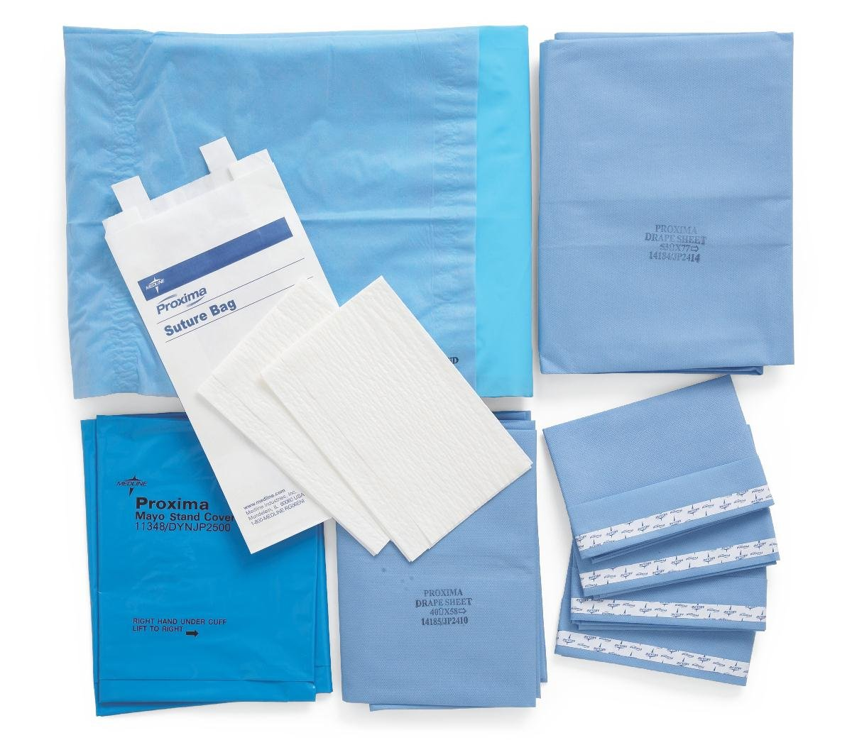Medline DYNJP1000 Sterile Basic Surgical Pack I, Eclipse (Pack of 10) by Medline