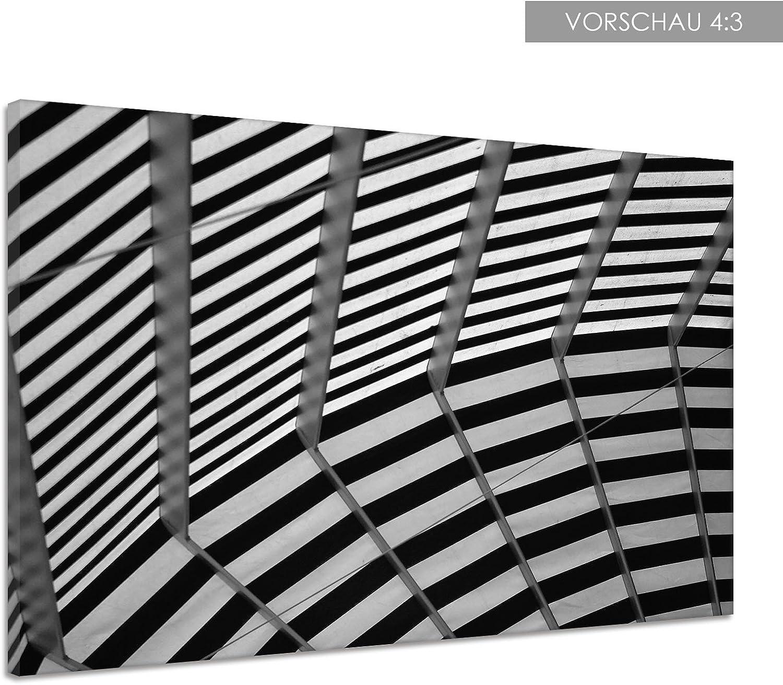 Toldo pérgola techo rayas tejido textura Lienzo Póster Impresión ...