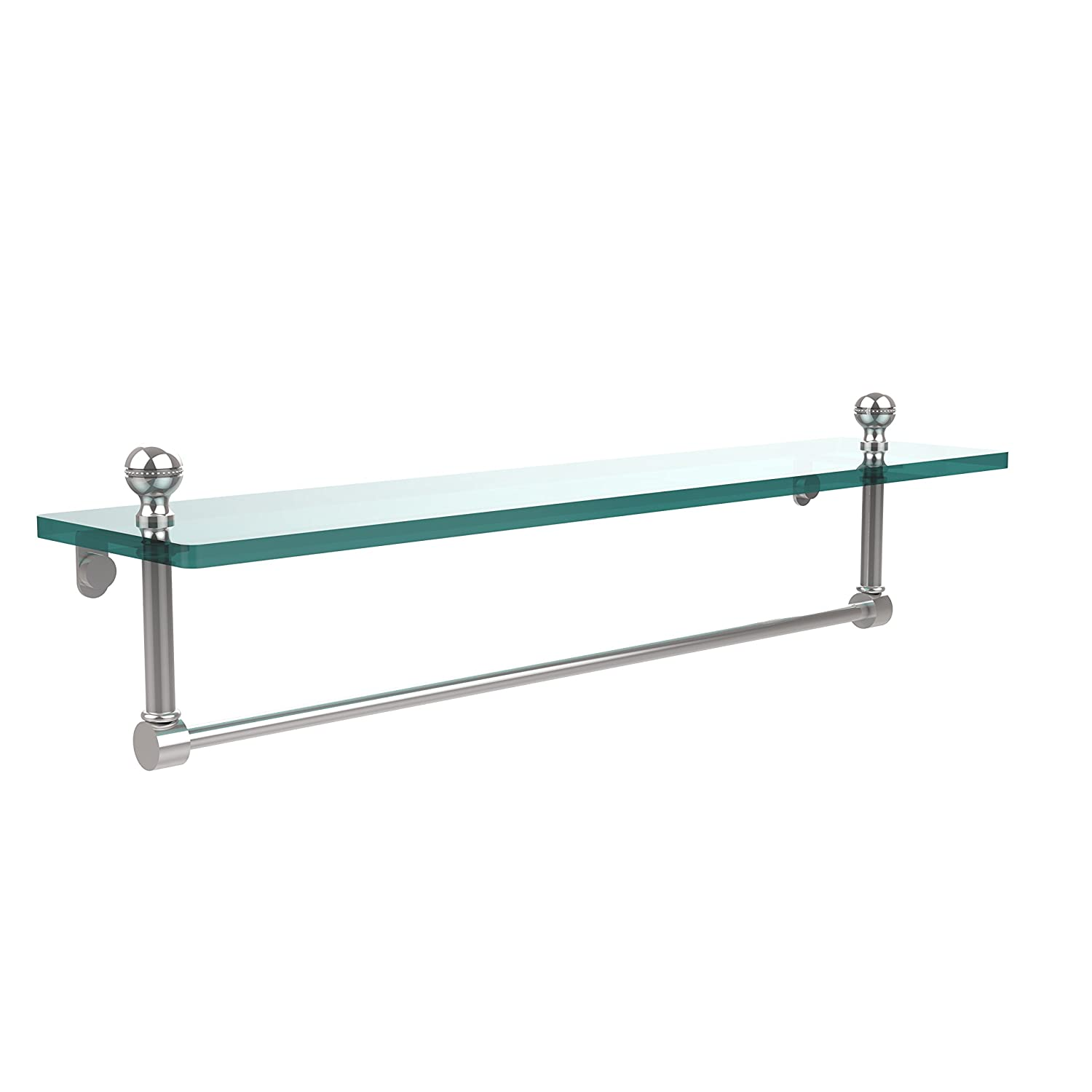 Allied Brass MA-1/22TB-PC 22-Inch Single Shelf with Towel Bar, Polished Chrome by Allied Precision Industries B00YE5URVY 光沢クロム 光沢クロム