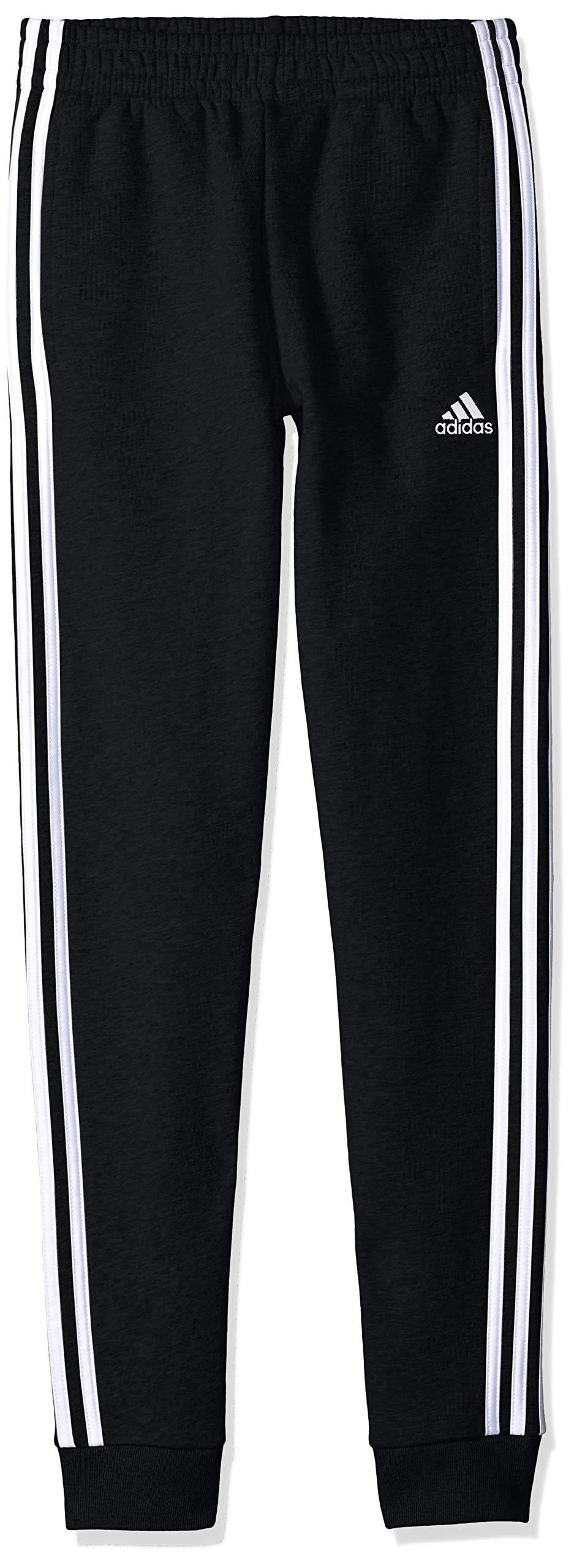 adidas Boys' Big Fleece Jogger Pant, Focus Black, S (8)