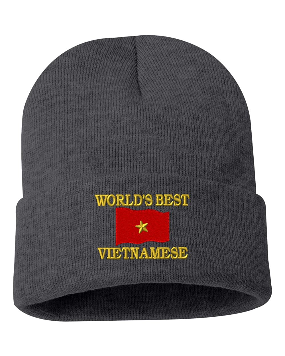 WORLDS BEST VIETNAMESE Custom Personalized Embroidery Embroidered Beanie