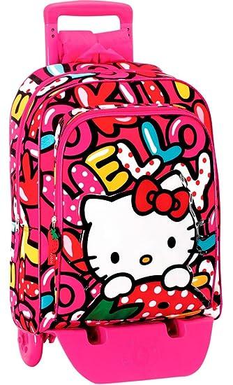 c1f3c5cca0 Zaino Trolley Hello Kitty Sweetnes Perona 53846: Amazon.it: Giochi e  giocattoli