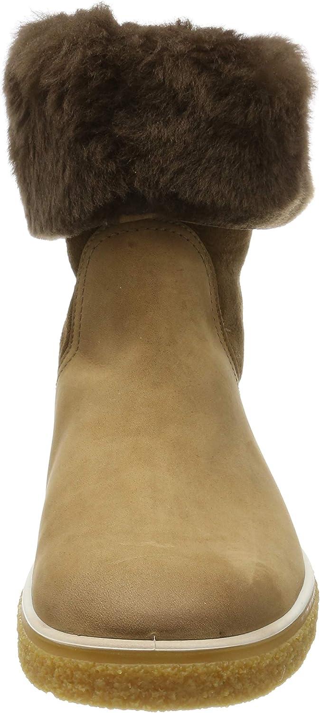 ECCO Crepetray W, Stivaletti Donna Marrone Camel Mojave 51654