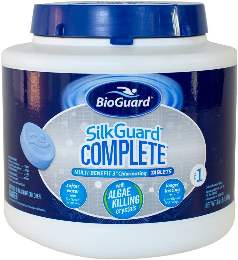 BioGuard SilkGuard Complete 3 Inch Chlorinating Tablets (3.5 lb)