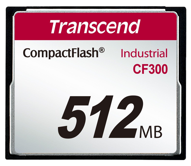 Transcend TS512MCF300 Carte Mé moire CompactFlash Carte mémoire