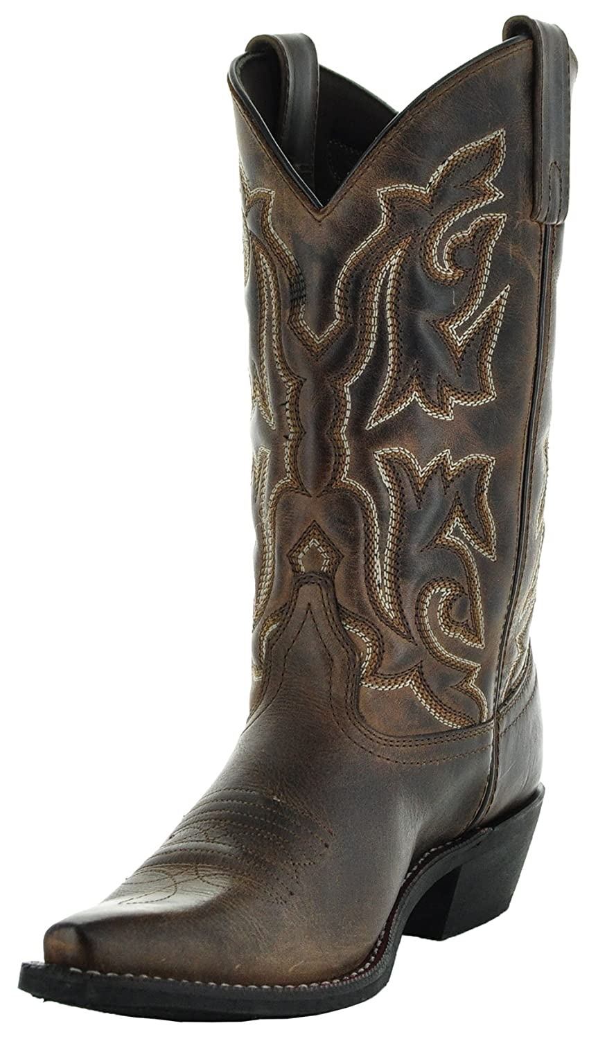 Soto Boots Women's Snip Toe B0792FYMZC Leather Cowgirl Boots M3002 B0792FYMZC Toe 7 B(M) US|Brown 8384b4