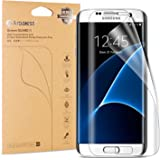 Galaxy S7 Edge Screen Protector-2packs, Arbalest® 3th Gen. HD Full Coverage *Anti-Lifting * Anti-Bubble * Anti-Scratch* Dry Application [Case Friendly] High Clear Screen Protector Film for Samsung Galaxy S7 Edge