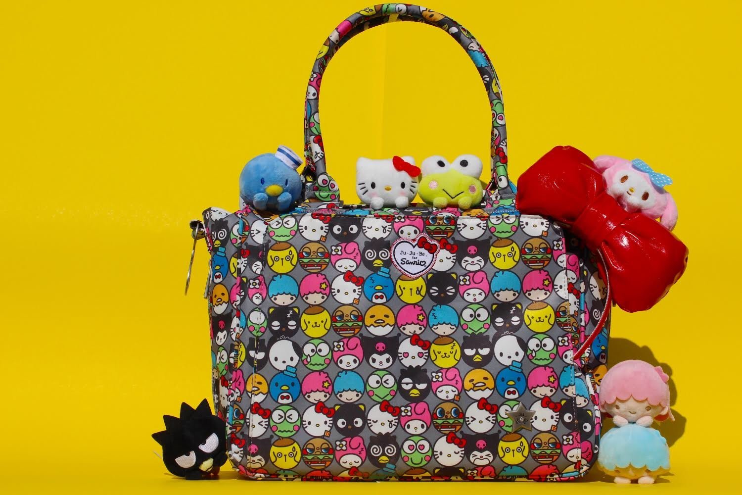Ju Be Hello Kitty Out To Sea Collection Classy Jujube Friends Structured Handbag Diaper Bag Baby
