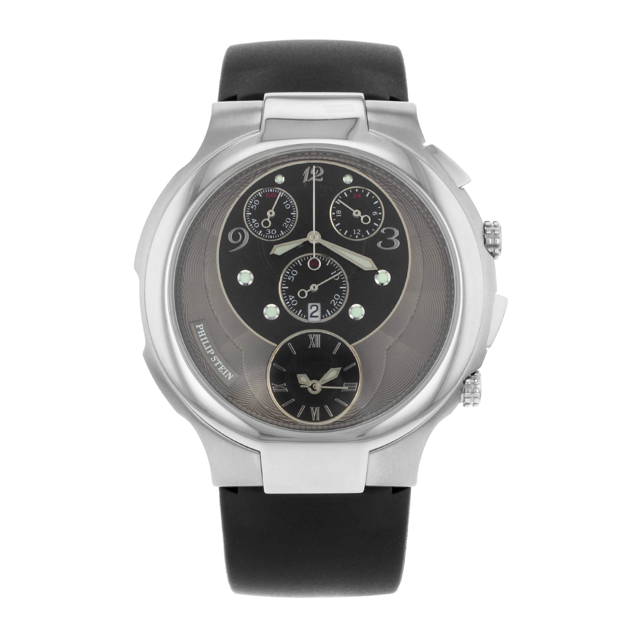 Philip Stein Chrono Analog-Quartz Male Watch 9-CRB3-CB (Certified Pre-Owned) by Philip Stein (Image #1)
