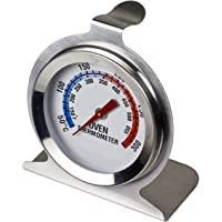 Davis & Waddell Essentials Stainless Steel Oven Thermometer D6x7cm 50°C to 300°C Temperature Range