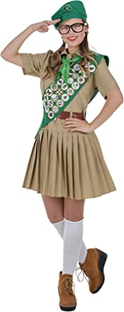 Banyant Toys Disfraz Boy Scout Mujer Mujer: S: Amazon.es ...