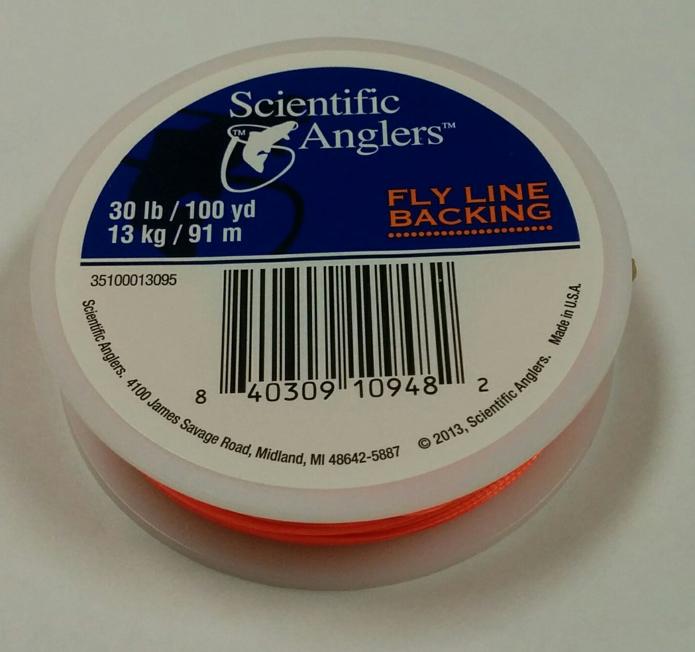 Scientific Anglers Backing 100 Yards 30-Pound Fly Line 3M 60771