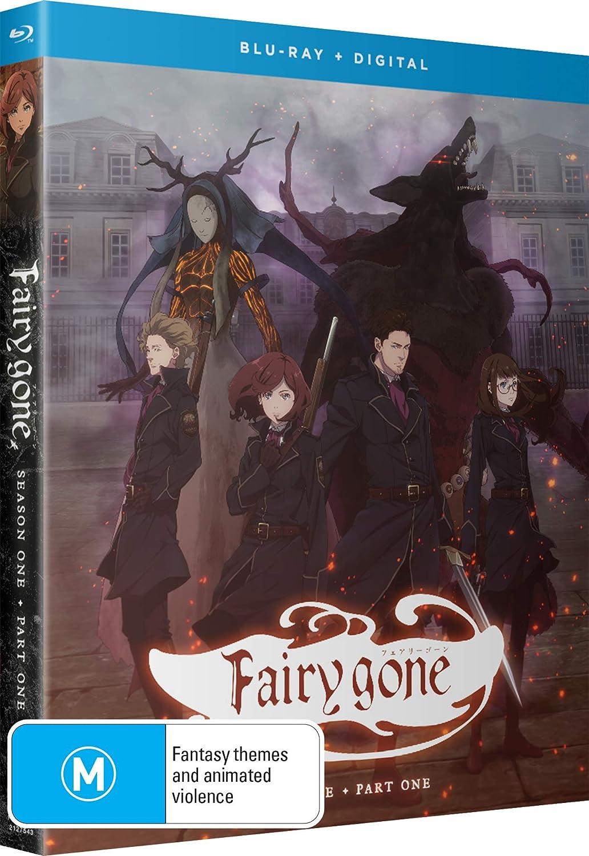 Fairy Gone Season 1 Part 1 Blu-ray (Dual Audio)