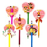 30pcs Valentine Scratch & Sniff Pencil