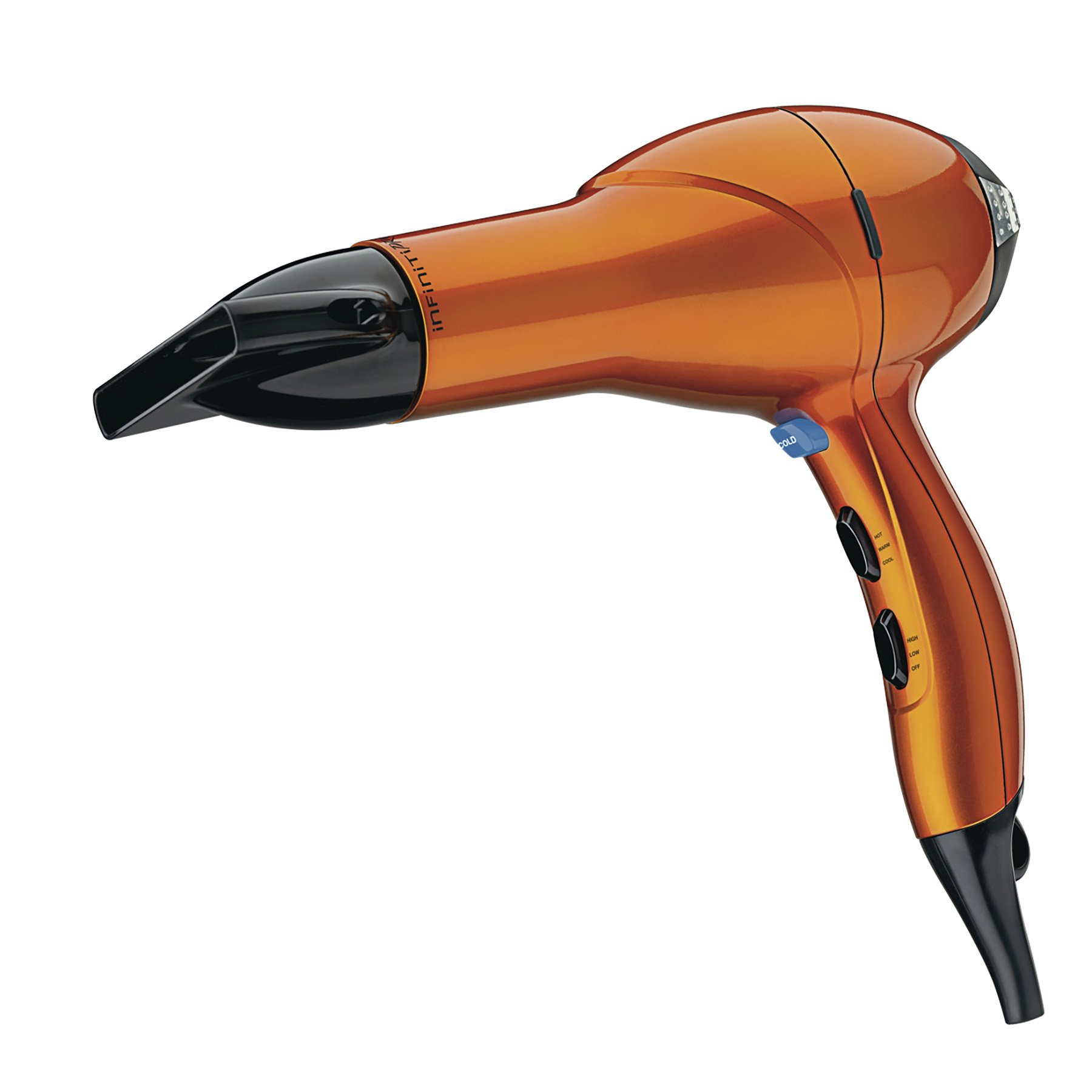 Infiniti Pro by Conair 1875 Watt Salon Performance AC Motor Styling Tool / Hair Dryer; Orange  (packaging may vary)