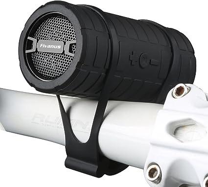 Altavoz Bluetooth Bicicleta,Fivanus IPX3 Estéreo inalámbrico al ...