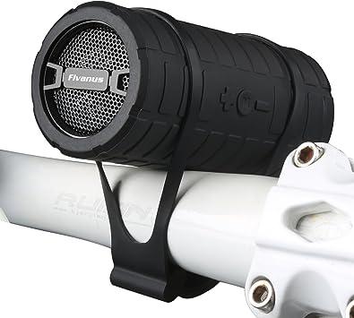 Altavoz Bluetooth Bicicleta,Fivanus IPX3 Estéreo inalámbrico al Aire ...